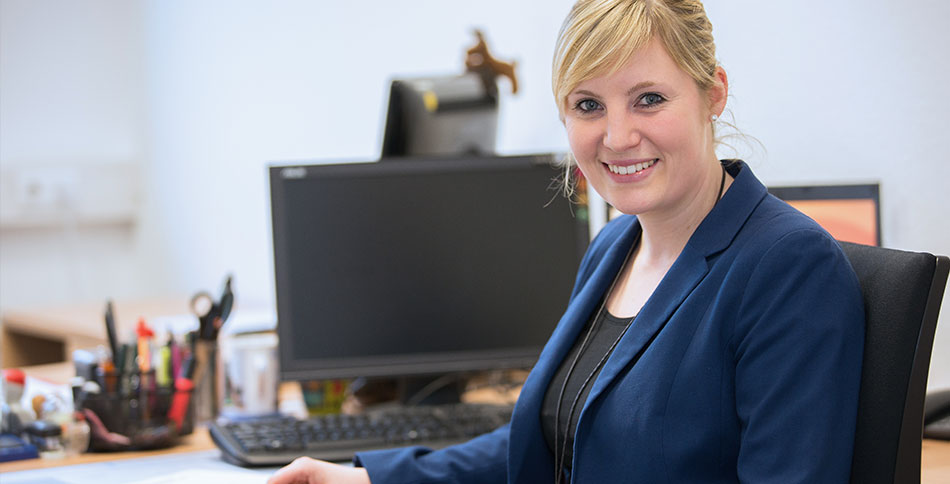Neue Mitarbeiterin Simone Rohloff