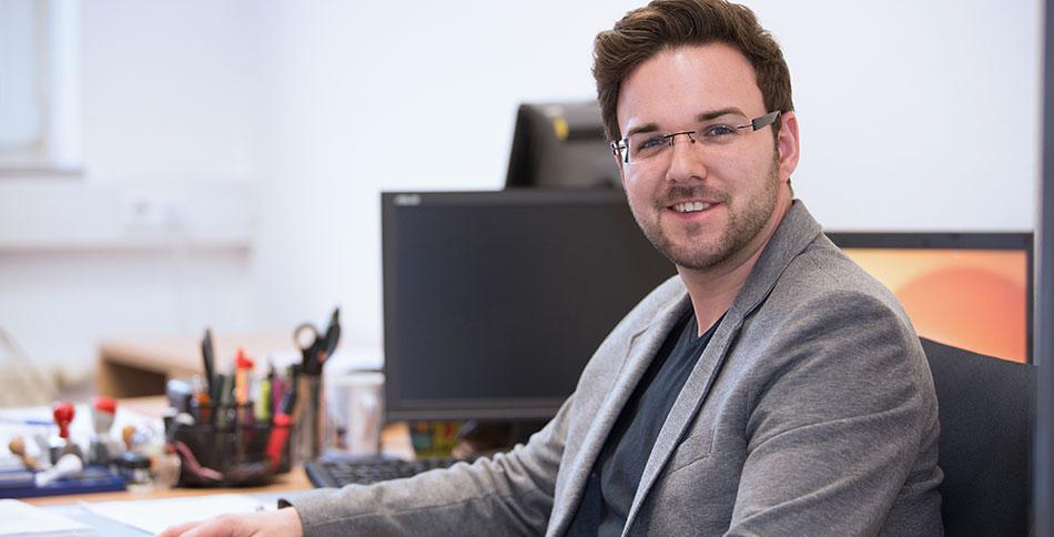 Neuer Mitarbeiter Lars Schmidt